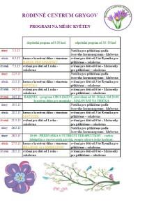 program květen 15