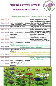 program ČERVEN  15