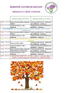 program listopad 15
